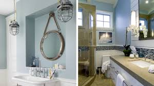 Half Bathroom Remodel Ideas Interesting 48 Beach Themed Bathroom Ideas Beachfront Decor