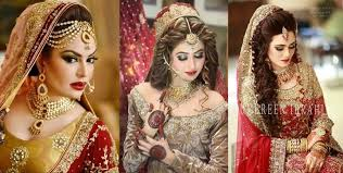 bridal makeup ideas and dress designs