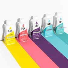 Rit Fabric Dye Color Chart All Purpose Dye Rit Dye