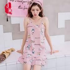 <b>Women Nightgowns</b> Cotton Night Dress <b>Sexy Spaghetti</b> Strap V ...
