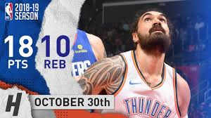Steven Adams Full Highlights Thunder vs ...