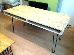 pallet furniture desk. Desk With Hairpin Legs Dining Table Pallet Computer And  Office Furniture Leg Pallet Furniture Desk
