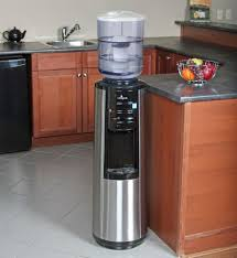 vitapur stainless steel top load hot room cold water dispenser ghp group inc