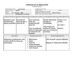 Formato Plan De Clase Basica