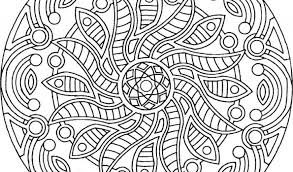 Small Picture printable mandala coloring pages for adults