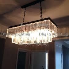 odeon glass fringe rectangular chandelier clear glass fringe rectangular chandelier 1920s odeon glass fringe rectangular chandelier