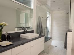 bathroom modern white. Light, Airy Contemporary Bathroom Modern White D