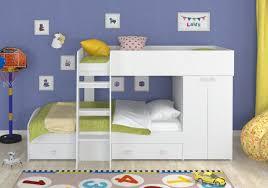 <b>Двухъярусная кровать Golden Kids</b>-<b>2</b> Белый, Без матрасов ...
