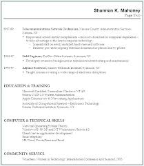 Example Resume Formats Gorgeous Work Experience Resume Sample With No Template For Without To R