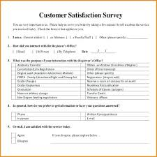 Customer Satisfaction Survey Template Word Doc Excel Results Free