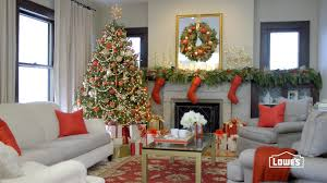 Living Room Christmas Decoration Living Room Christmas Decorating Ideas Youtube
