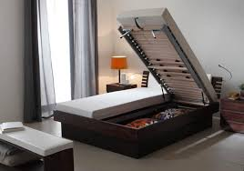compact furniture for small spaces. Compact Bed For A Creative Hidden Storage Furniture Small Spaces