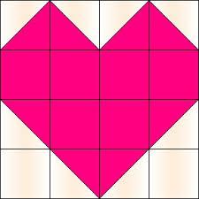 Best 25+ Heart quilt pattern ideas on Pinterest | Heart quilts ... & With Heart and Hands* : Free Heart Themed Patterns: Quilt Blocks . Adamdwight.com