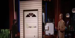 garage door lock. Garage Door Lock On Shark Tank