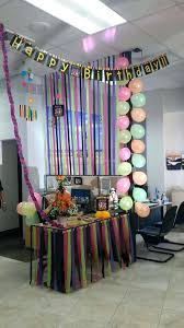 office birthday decoration. Desk Funny Office Cubicle Decorations Accessories Cool Balloons Happy Birthday Decoration