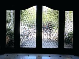 bevel glass windows diamond door arch entry beveled leaded stained window alto inserts church st