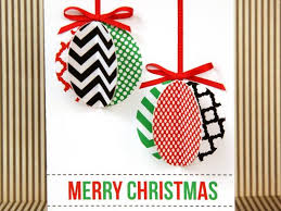 Glue Ornaments to Cards and Embellish