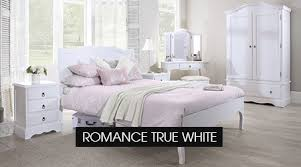 white chic bedroom furniture. Wonderful Chic Romance True White Bedroom Furniture Throughout Chic S