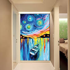 3d canvas painting abstract customized