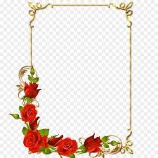 Flower Border Designs For Paper Paper Flower Drawing Transparent Png Image Clipart Free Download