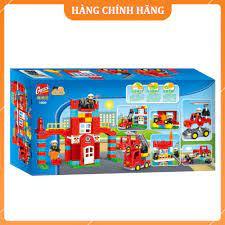 Bộ đồ chơi lego xếp hình cứu hỏa cho bé từ 3 tuổi chính hãng 399,000đ