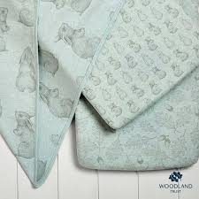 organic baby bedding  the little green sheep