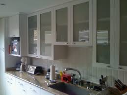 Modern Style Frosted Glass Kitchen Cabinet Doors