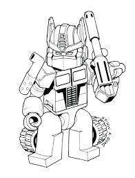 Transformer Robot Drawing
