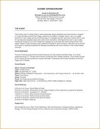 A Sample Of A Proposal Event Proposal Format Example Event Proposal Template