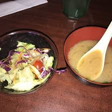 photo of sushi garden el paso tx united states miso and salad