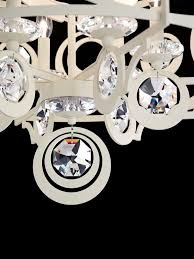 traditional chandelier swarovski crystal metal incandescent