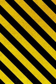 wallpaper iPhone yellow and black stripes for danger design