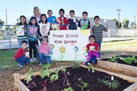 new garden boxes bring science and greenery to three azusa unified elementary schools