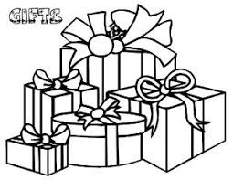Small Picture Christmas Gifts Coloring Sheets Christmas Tree Coloring Pages