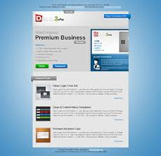 Premium Newsletter Theme | Design3Edge.com