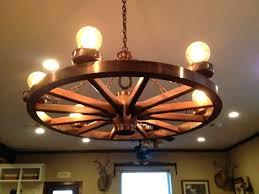 marvelous small wagon wheel chandelier