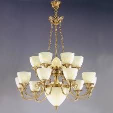 great brass chandelier