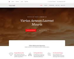 Free Templates Vallume Website Template Free Website Templates Os Templates