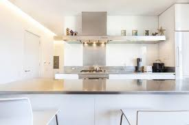 contemporary kitchen office nyc. sleek modern kitchen in soho new york apartment with grey countertop contemporary office nyc 2