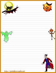 free halloween stationery templates free halloween stationary letterhead 4