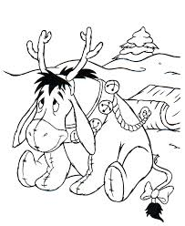 Small Picture Baby Pluto As A Reindeer Christmas Coloring Sheet I Am A Mommy