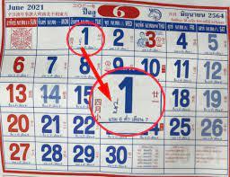 เลขเด็ดปฏิทินจีน งวด 1 มิถุนายน 2564