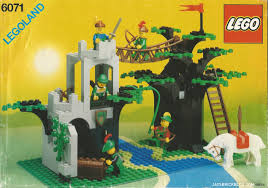 Sale On Legos Retro Lego Review 6071 Forestmens Crossing