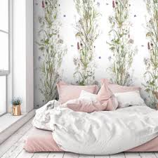 zones bedroom wallpaper: botanical wallpaper by woodchip and magnolia furnishings amp fittings