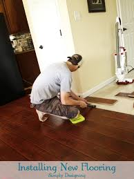 how to install laminate flooring. Installing Laminate Flooring | #diy #flooring #homeimprovement # Laminateflooring At Simply Designing How To Install