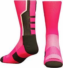 Pro Feet 3 Pointer Think Pink Socks