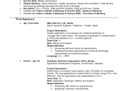 Software Developer Resume Template Resume Template