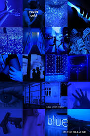 Aesthetic Wallpapers Dark Blue