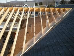 image of porch roof framing plan