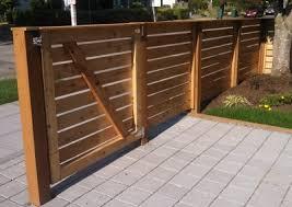 horizontal wood fence. Modren Fence Horizontal Fence 3  Wood And